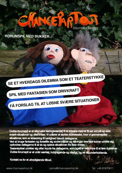 puppet flyer